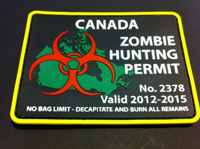 CANADA ZOMBIE HUNTING PERMIT