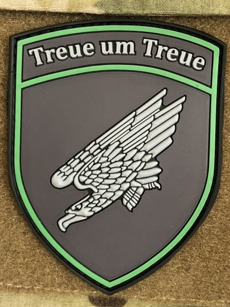 "3D Rubber MORALE PATCH: ""TREUE UM TREUE"""