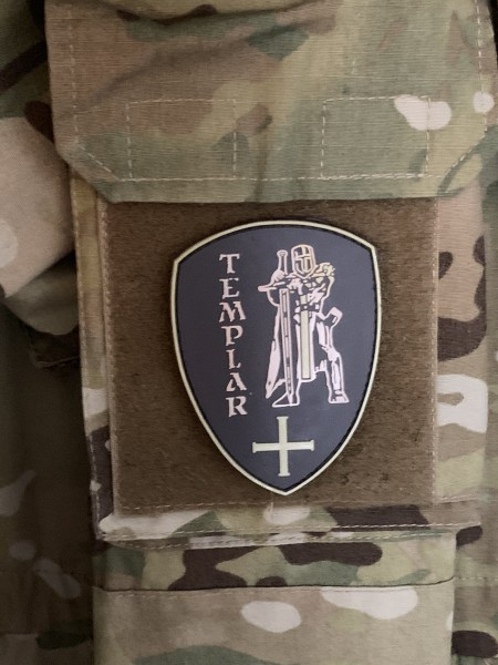 "MORALE PATCH: ""TEMPLAR"" in der Version ""Sand und Sonne"""