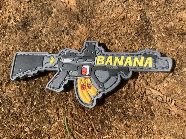 """3D Rubberpatch """"BANANA"""""""