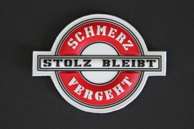 SCHMERZ VERGEHT STOLZ BLEIBT (Sports)