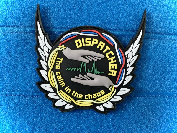 "3D-Morale Patch: ""Dispatcher"""