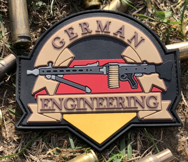 "3D Morale Patch: ""GERMAN ENGINEERING"""