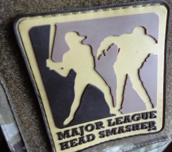 "3D Rubberpatch: ""Major League Headsmasher""multicam"