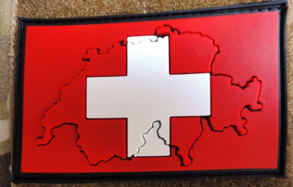 "3D Rubber Patch: ""SCHWEIZ"""