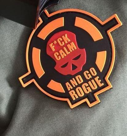 """3D Rubberpatch:""""Go Rogue"""""""
