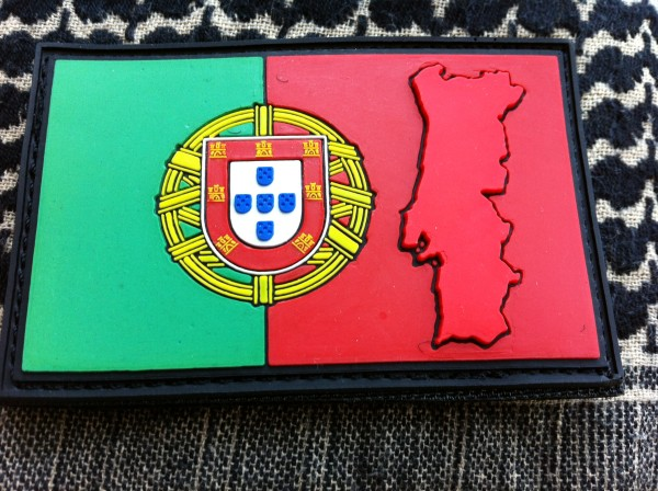 "3D Rubberpatch:""PORTUGAL"""