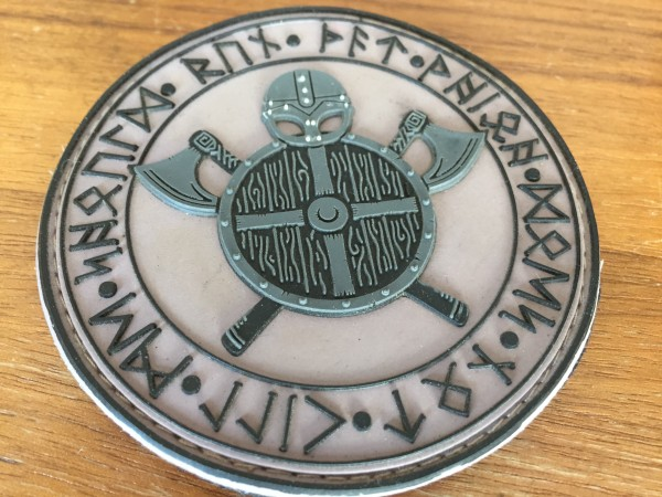 "3D Rubber MORALE PATCH: ""WARRIOR'S CODE"""