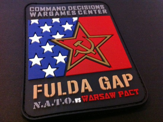 "3DRubber Patch:""FULDA GAP"""