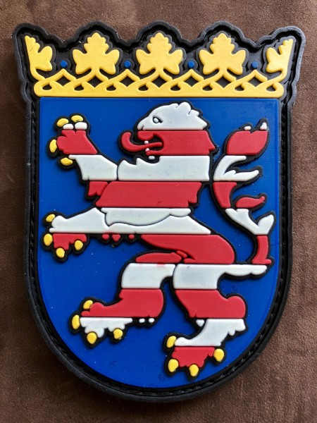 "3D Rubberpatch ""HESSEN"""