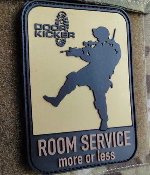 "3D Rubberpatch: ""ROOM SERVICE more or less"" multicam"