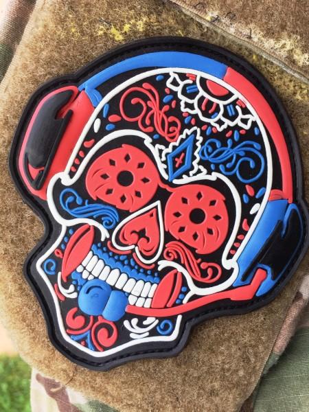 """3D Rubber MORALE PATCH: """"Santa Muerte"""""""