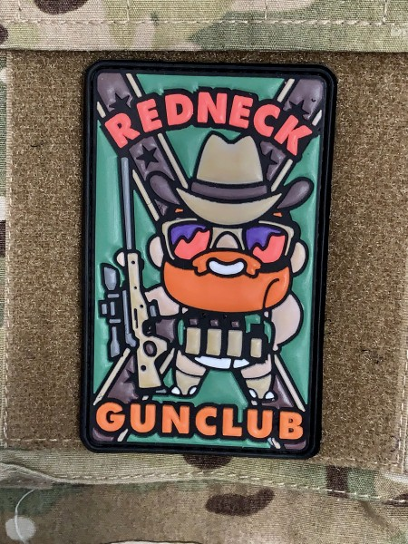 "3D Rubberpatch: ""REDNECK GUNCLUB"""