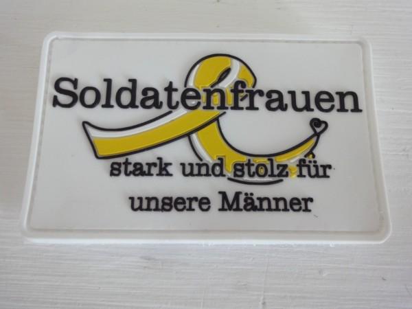 """3D Rubber MORALE PATCH: """"Soldatenfrauen"""""""