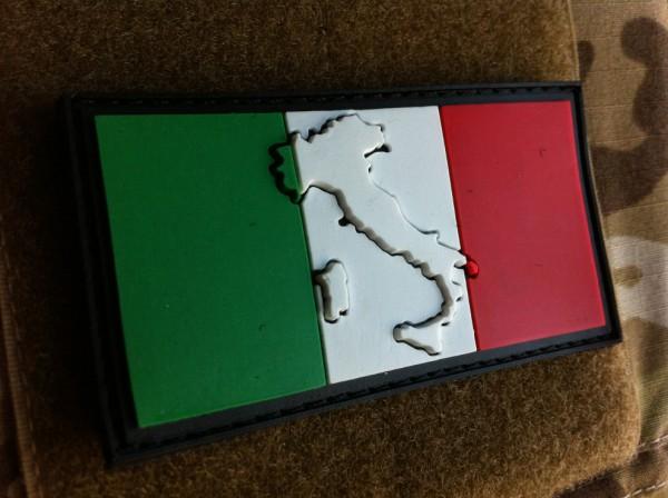 "3D Rubber Patch:""ITALIA"""