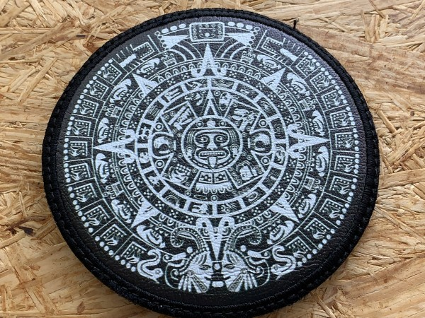 "Leatherpatch: ""MAYA CALENDAR"""