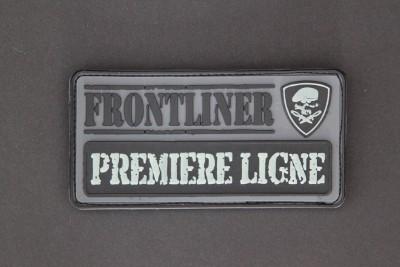 """""""PREMIERE LIGNE"""", (""""FIRST LINE""""), nachleuchtend, aus unserer legendären """"FRONTLINER-Collection"""""""