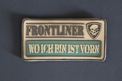 """""""WO ICH BIN IST VORN""""- FRONTLINER-Collection"""