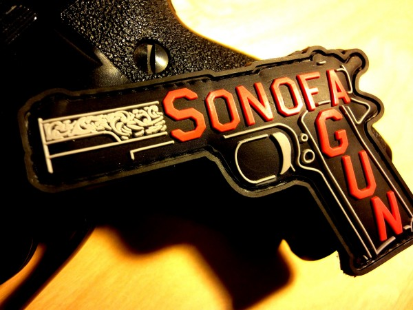 "3D Rubber MORALE PATCH: ""SON OF A GUN"""