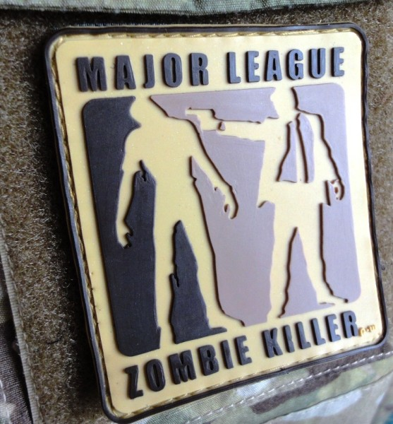 "3D Rubberpatch: ""Major League Zombiekiller"" multicam"