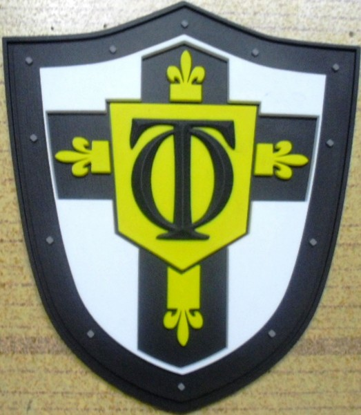 "3D Rubber Patch:""TEUTONIC ORDER"""
