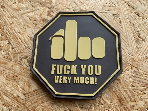 """3DRubber Patch: """"FUCK YOU...!"""" mulitcam"""