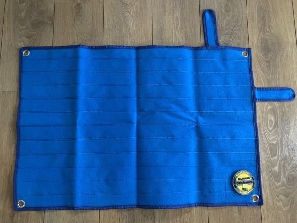 """Patch Pad """"BLUE"""" in blau, 90x60cm"""