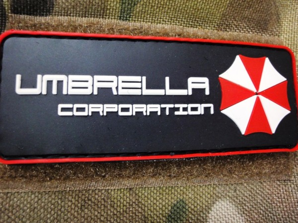 "3D Rubberpatch: ""UMBRELLA CORP:"""