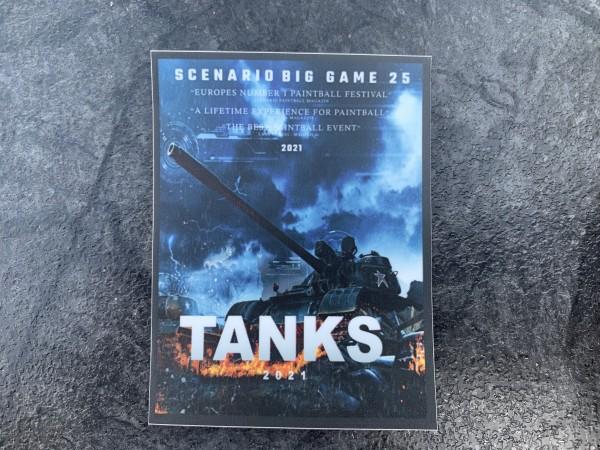 "Aufkleber/Sticker ""TANKS 2021"""