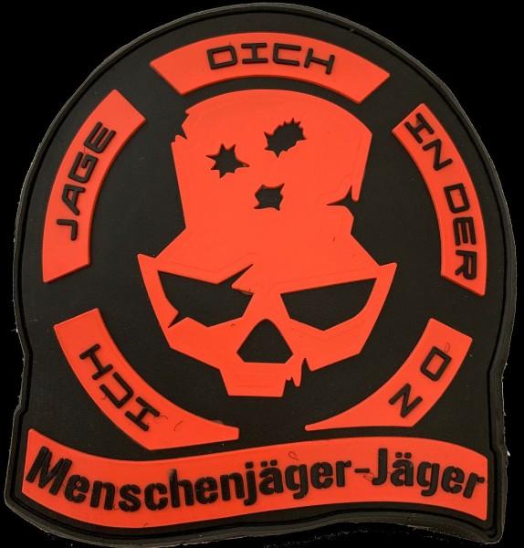 """Rubberpatch """"Menschenjäger-Jäger"""""""