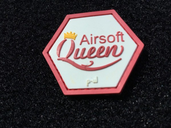 "Hex-Patch: ""Airsoft Queen"""