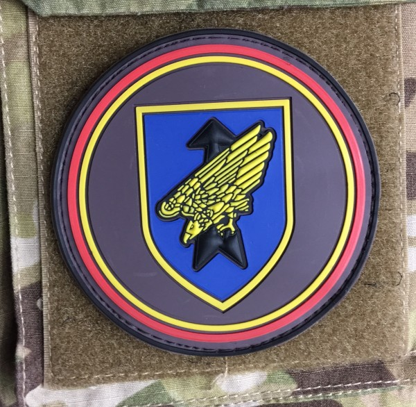 "3D Rubber MORALE PATCH: ""DSK-like"""