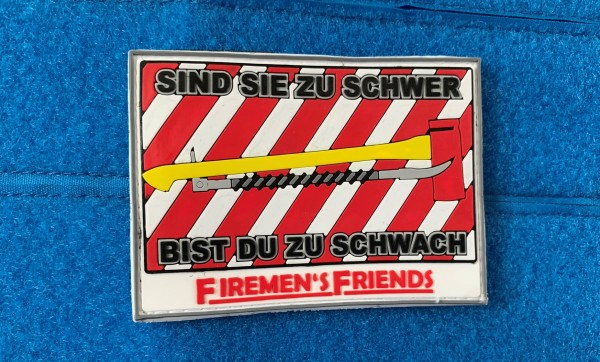 "3D Morale Patch: ""FIREMAN'S FRIENDS"""