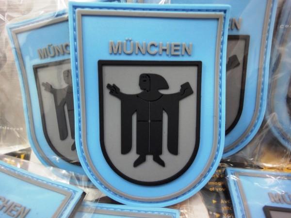 """3D Rubberpatch: """"München"""""""