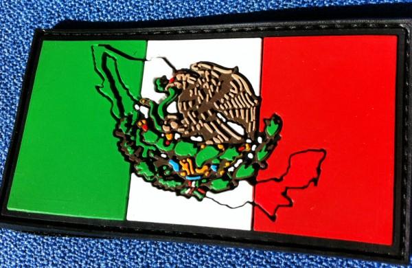 """3D Rubber Patch:""""MEXICO"""""""