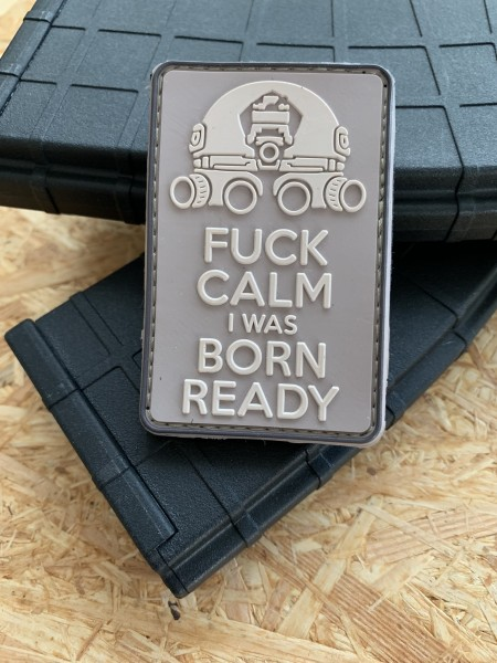"3D Morale Patch: ""I WAS BORN READY"" Desert-version"