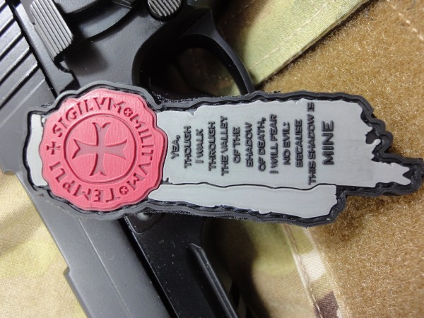 """3D Rubber MORALE PATCH: """"My Shadow"""""""