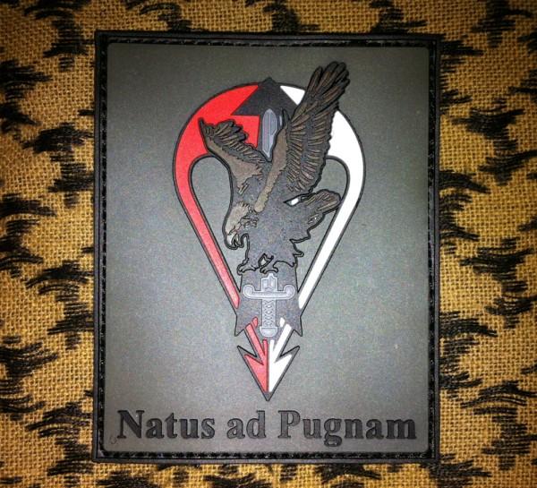 """3DRubber Patch:""""Natus ad Pugnam"""""""