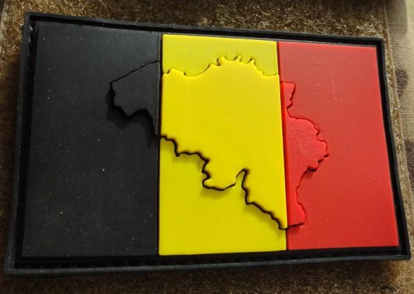 "3D Rubberpatch:""Belgium"""