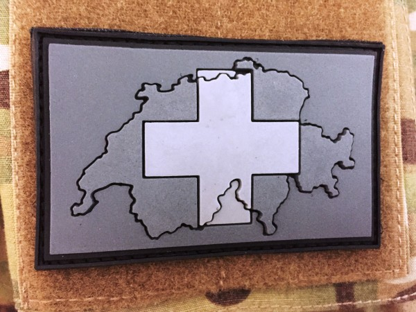 "3D Rubberpatch: ""Schweiz"" covert ops"