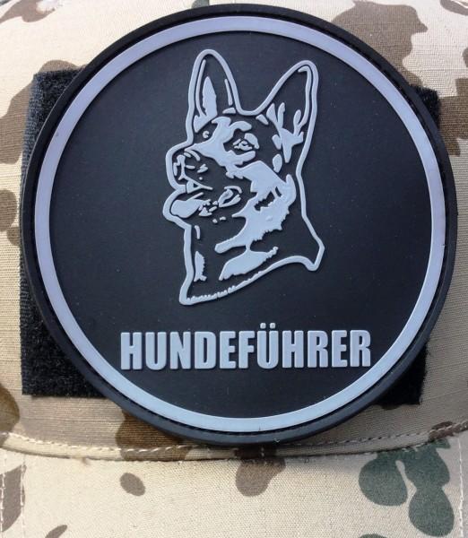 "3D Rubberpatch: ""HUNDEFÜHRER"""