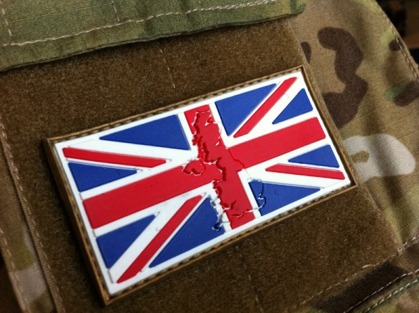"3DRubber Patch:""UNITED KINGDOM"""