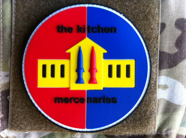 "3D Rubber Patch:""MERCENARIES"""