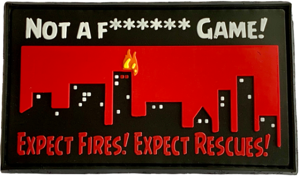 "Morale Patch: ""NOT A F****** GAME!"""