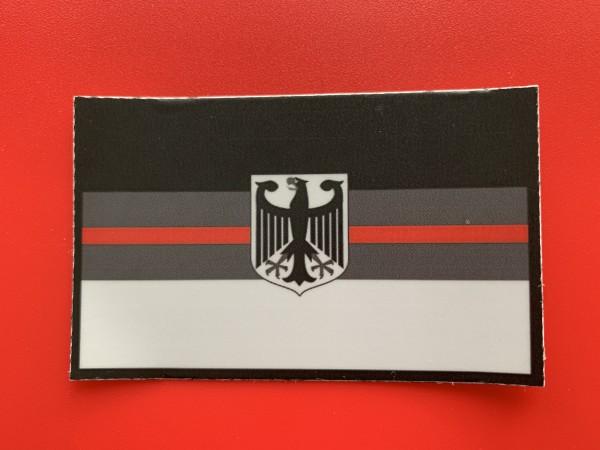 """Aufkleber/Sticker """"RED LINE DEUTSCHLAND"""""""