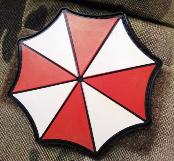 "3D Rubberpatch: ""UMBRELLA""-Logo"
